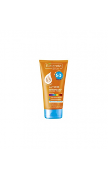 Crema facial solar SPF 50 Matt Look con color